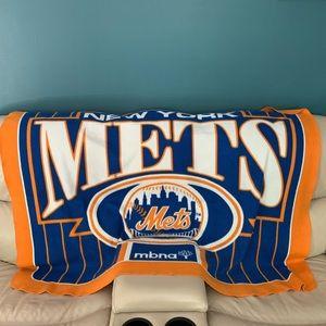 NY Mets fleece throw blanket